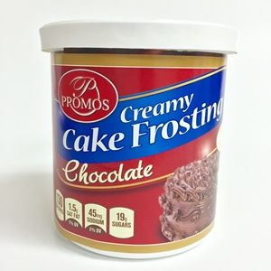 PROMOS MILK CHOCOLATE FROSTING 12/12OZ
