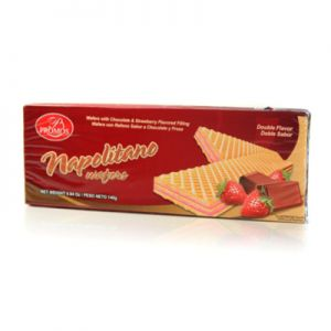 PROMOS NAPOLITANO WAFERS (Chocolate & Strawberry Filled)  30/4.94 OZ