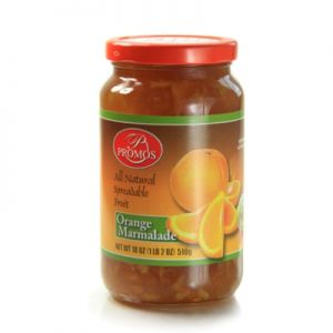 PROMOS, ORANGE / MERMALADE PRESERVE. 12/18OZ.