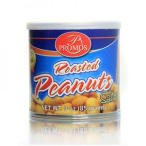 PROMOS ROASTED PEANUTS SALTED 24/3 OZ New Pack Size