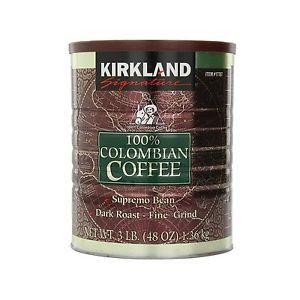 Kirkland Signature 100% Colombian Coffee - 48oz