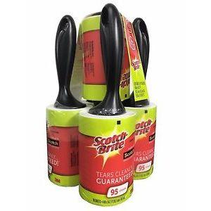 Scotch Brite Lint Roller - 5 Pack