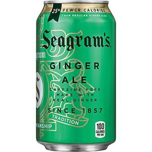 Seagrams Ginger Ale 12oz Cans - 24 Pack