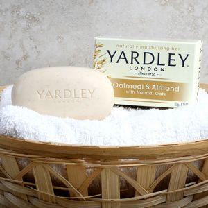 YARDLEY LONDON OATMEAL & ALMOND BATH SOAP  24/4.25 oz
