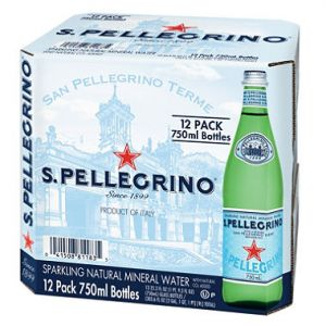 San Pellegrino Sparkling Water 750ml - 12 Pack