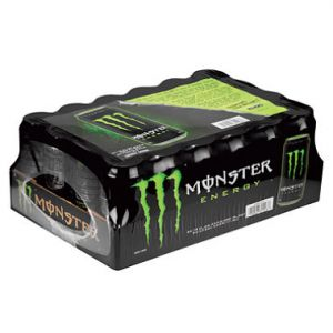 24 Pack - Monster Energy Drink 16 oz