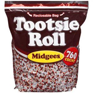 Tootsie Midgets 700 ct. Bag