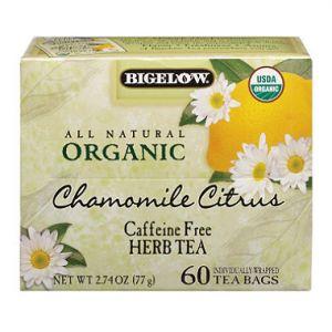 Organic Bigelow 60CT Chamomile Tea