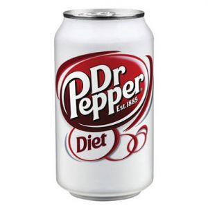 Diet Dr. Pepper 12oz Cans - 36 Pack