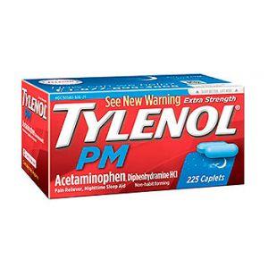Tylenol PM Caplets 225 CT