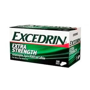 Excedrin Extra strength Acetaminophen tablets. 300 CT