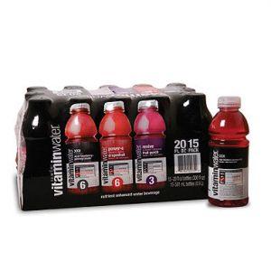 Glaceau Vitamin Water 20oz Variety - 15 Pack