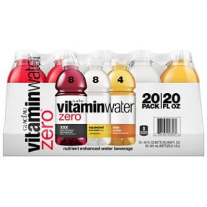 Vitamin Water Zero 20 OZ/20PK