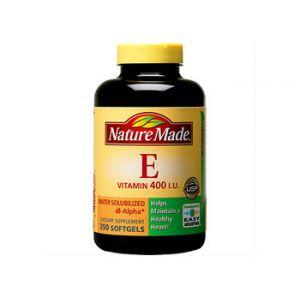 Nature Made Vitamin E Water Soluble 400 IU 350 CT