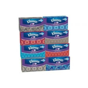 Kleenex Lotion Facial 2Ply 8 Pack 210CT