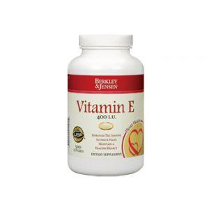 Berkley & Jensen Vitamin E 400 IU 500 CT Soft Gels