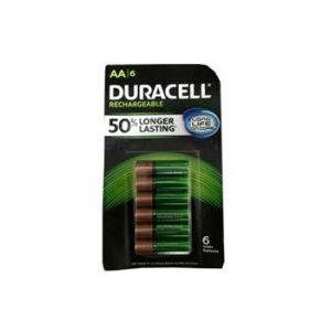 Duracell 6PK AA Nimh Rechargable Battery