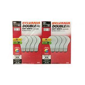Sylvania 43w Traditional 8PK Halogen Double Life