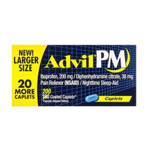 Advil PM caplets 200 CT