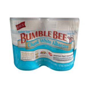 Bumble Bee Chunk White Tuna In Water 8/5 OZ