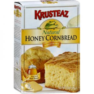 Krusteaz Natural Honey Cornbread Mix 60oz