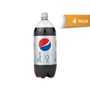 4 Pack - Diet Pepsi 2 Liter Bottles