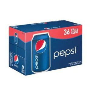 Pepsi Cola 12 oz - 36 Pack