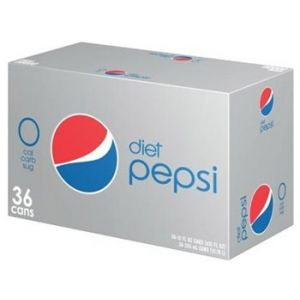 Diet Pepsi 12 Ounce - 36 Pack