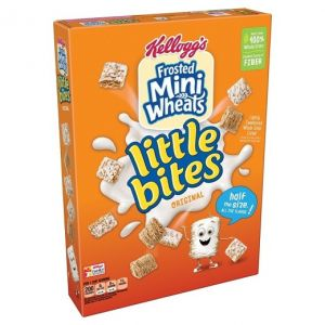 KELLOGG'S FROSTED MINI-WHEATS ORIGINAL LITTLE BITES CEREAL 15.8 OZ
