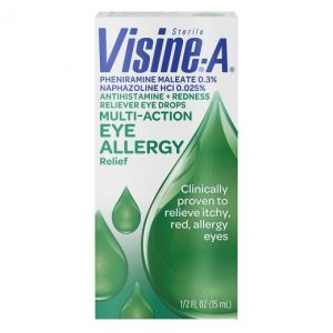 VISINE-A EYE ALLERGY RELIEF EYE DROPS .5-OZ.