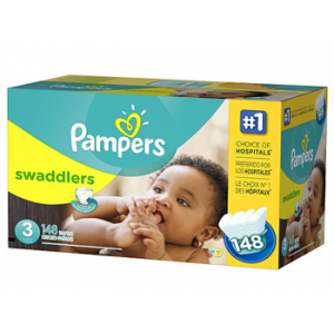 Pampers Swaddler Diapers Size 3 162ct