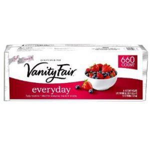 VANITY FAIR 2 PLY EVERYDAY NAPKINS - 660 PACK