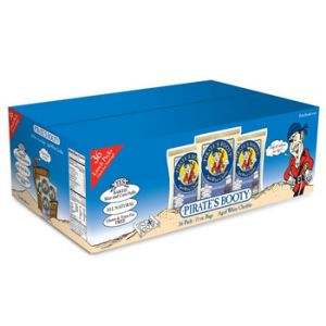Pirate's Booty Aged White Cheddar Puffs Snack 0.5 oz - 36 Pack