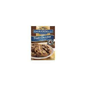 Ghirardelli Triple Chocolate Chip Cookie Mix - Makes 3 Batches