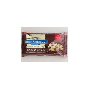 Ghirardelli 60% Cacao Chocolate Chips Bittersweet - 3 Lb