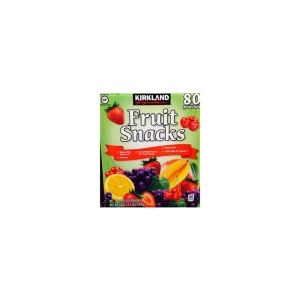 Kirkland Signature Fruit Snacks - 80 Pack