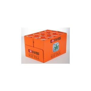 C+Swiss The Original Hemp Iced Tea 250ml - 76 Calories - 12 Pack