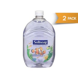 Softsoap Clear Liquid Hand Soap 64oz - 2 Pack