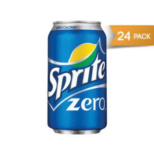 Sprite Zero 12 oz Cans - 24 Pack
