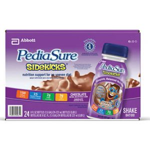 PediaSure SideKicks Chocolate Shake 8 oz - 24 Pack