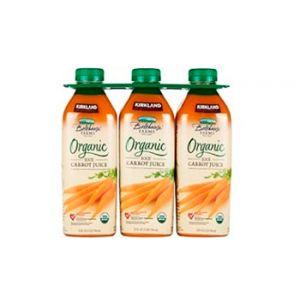 Kirkland Signature Organic Carrot Juice 3/32 OZ