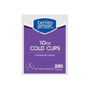 Berkley & Jensen Translucent Cups 7 OZ 400 CT