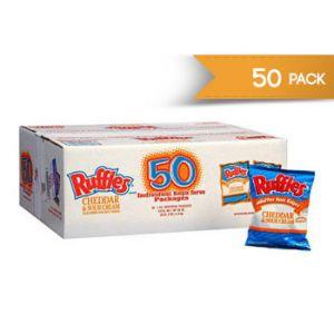 Frito Lay Ruffles Cheddar & Sour Cream 1 OZ / 50 CT