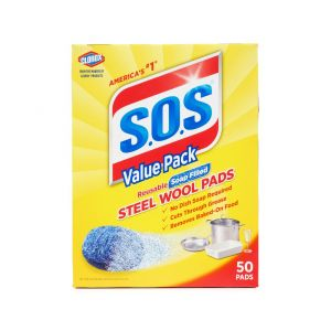 S.O.S Soap Pads 50 Count