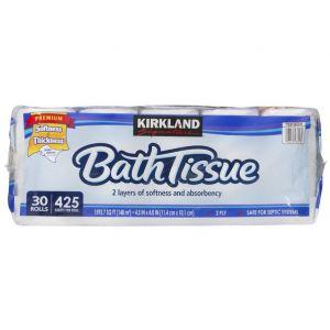 Kirkland Signature 2-Ply Bathroom Tissue - 30 Pack