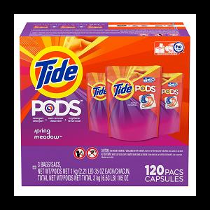 Tide. Pods Laundry Detergent 120 CT