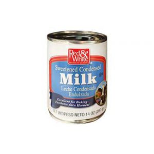 Red & White Sweetened Condensed Milk 24 Pack / 14 OZ