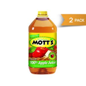 Motts Apple Juice 128 oz - 2 Pack