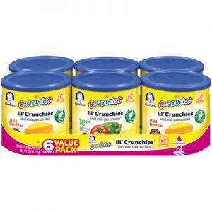 Gerber Lil Crunchies 6/1.48 oz