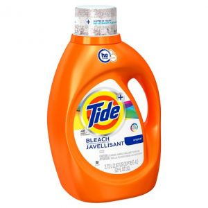 Tide Laundry Detergent with Bleach - 92 oz